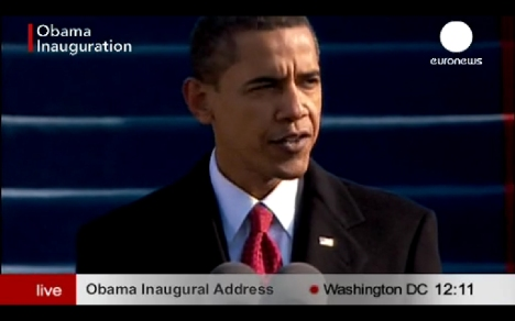 Primer Discurso de Obama Presidente