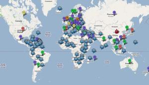 Mapa Mundial de la Pirateria